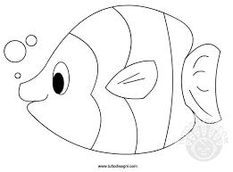 Pesce Disegno Da Colorare Tuttodisegnicom