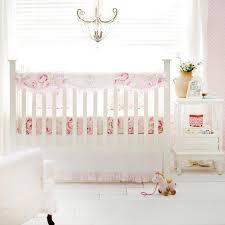 Pink Floral Desert Rose  Crib Bedding SetCrib SetDefaultJack