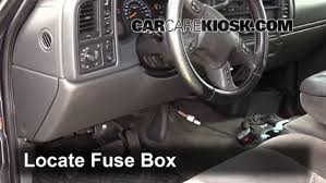 interior fuse box location 1999 2007 gmc sierra 2500 hd 2004 interior fuse box location 1999 2007 gmc sierra 2500 hd 2004 gmc sierra 2500 hd 6 0l v8 extended cab pickup 4 door
