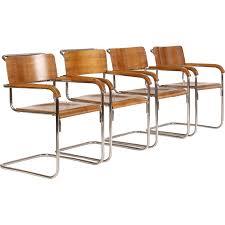Vintage steel furniture Wardrobe Set Of Vintage Tubular Steel Chairs Czech Bauhaus 1930s Better Homes And Gardens Set Of Vintage Tubular Steel Chairs Czech Bauhaus 1930s Design
