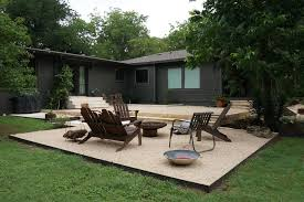 Modern Backyard Design Property Interesting Decoration