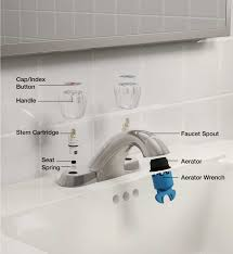 faucet parts bath two handle