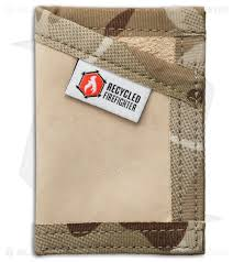 recycled firefighter sergeant u s combat boot leather wallet tan tan camo blade hq