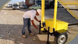 Portable Light Carts Tanweer Portable Solar Led Flood Light Tower