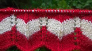 Zig Zag Knitting Pattern