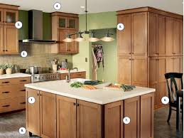 kitchen paint colors to match maple cabinets contemporary