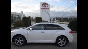 2009 Toyota Venza AWD in Pearl White - YouTube