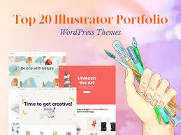 Top 20 Illustrator Portfolio Wordpress Themes Wp Daddy