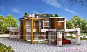 Smart placement modern flat roof houses ideas double storied luxury residence kerala home design floor plans