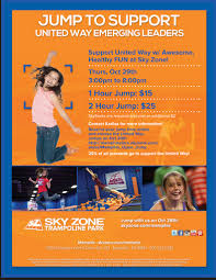 Sky Zone In Memphis Emerging Leaders Are Jumping For United Way At Sky Zone On