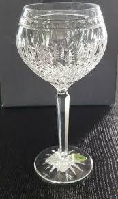 waterford crystal clarendon goblets clear set of 4 wine glasses new in box