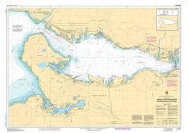 Burrard Inlet Depth Chart Chs Nautical Chart Chs3493 Vancouver Harbour Western Portion Partie Ouest