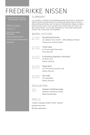 Professional Resume Examples 2013 Mesmerizing Cleaner Resume Samples VisualCV Resume Samples Database
