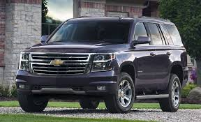 New Chevrolet Tahoe Suburban Are Extra Manly Suvs