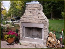 prefab outdoor fireplace brick daringroom escapes have a in pre built outdoor fireplace