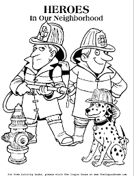 Small Picture Firefighter Coloring Pages for Kids Enjoy Coloring Library