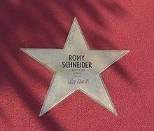 Resultat d'imatges de romy schneider estrella