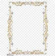 free png gold border frame png images