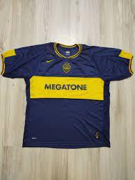 Camisa Home Boca Juniors 2006/2007 (Campeão Recopa Sulamericana) | Roupa  Esportiva Masculino Nike Usado 46630290