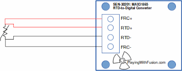 wiring for rtd configurations 4 wire connection
