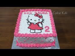 Kue Ulang Tahun Anak Perempuan Kue Ultah Karakter Hello Kitty