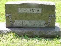 Sara Rhodes Thoma (1878-1966) - Find A Grave Memorial