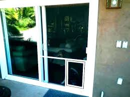 doggy door for glass doors with slider sliding pet patio security doggie slidi