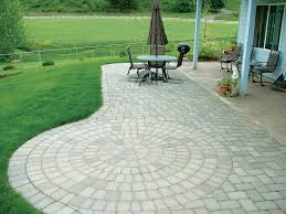 Stunning Stone Patio Pavers Paver Patio Designs Patterns The Home