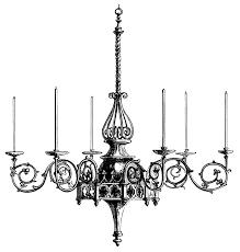 antique chandelier art victorian chandeliers free vintage clip art old design