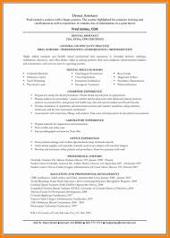 Dental Assistant Resume Dental assistant Resume Templates Tomyumtumweb 71