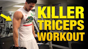 tricep workouts for m 5 exercises to build bigger triceps you