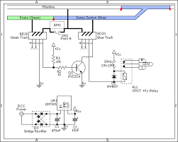 point control page 2 all model railroading community chat forum 2x nce bd20 block detectors 1x spdt 5v relay 1x 1n4007 diode 1x on off toggle switch