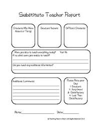 teacher feedback form great substitute teacher feedback form great way to hear how the
