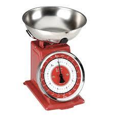 Retro Kitchen Scales Uk Typhoon Retro Enamel Red Kitchen Manual Scales Dove Mill