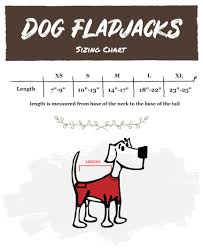 Lazy One Size Chart Lazyone Pet Dog Gnome Flapjack