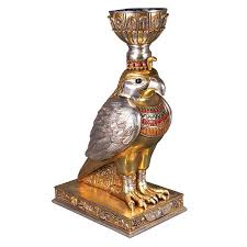 Horus, the Egyptian Winged Falcon: Sculptural Urn - NE75337 ...