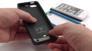 Чехол - Аккумулятор для iPhone 5 (2200 mAh). Видеообзор - Тест ...