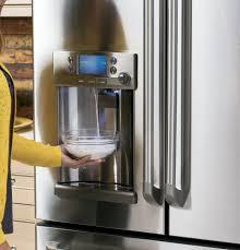refrigerator with keurig coffee maker. GE Cafe Series Precise Fill On Refrigerator With Keurig Coffee Maker