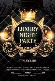 Free Party Flyer Templates Luxury Night Party Free Psd Flyer Template Free Download