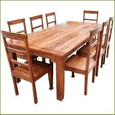 All Wood Dining Room Table Simple Decorating Design