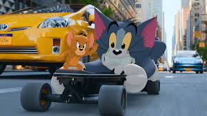Tom & Jerry review: 2 beloved animated characters get stuck in live-action  - Polygon