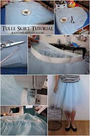 step by step instructions for making one of those cool tulle skirts rae gun ramblings