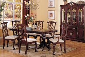 formal dining room table decorating ideas. formal dining room table decor of also decoration with dark brown wooden diningtable double pedestals complete chairs using white seat pads and cream rug decorating ideas l