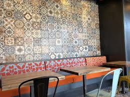 photo of mezeh mediterranean grill fairfax va united states beautiful mosaic tiles