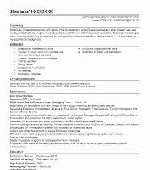 Hostess Resume Interesting Fine Dining Hostess Resume Sample Hostess Resumes LiveCareer