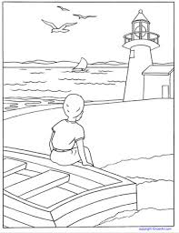 Small Picture Lighthouse Coloring Page KinderArt