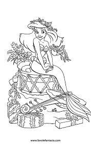 La Sirenetta Da Colorare Favole E Fantasia