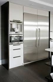 9 Examples Of Kitchens With Built-In Coffee Machines // The built-in