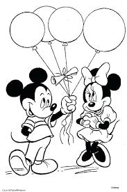 Minnie Mouse Color Pages Trustbanksurinamecom