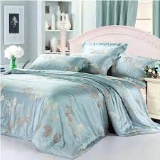 blanket luxury tencel silk s queen king size moroccan paisley duvet cover bed sheet bedclothes home